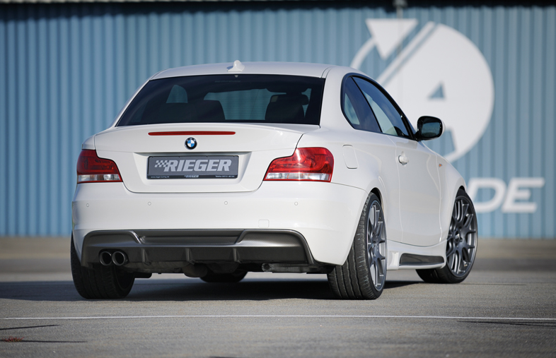 RIEGER Facelift für das BMW 1er Coupé