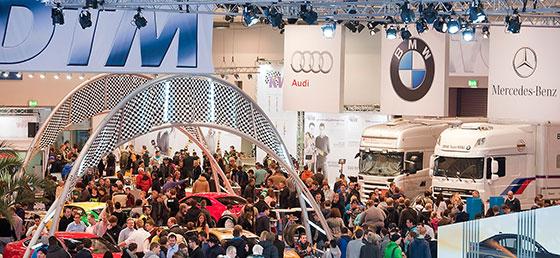 DTM-Sonderschau auf der Essen Motor Show 2013