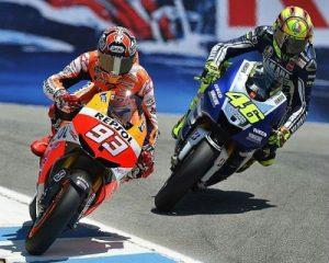 Schauplatz Corkscrew Marquez wie einst Rossi
