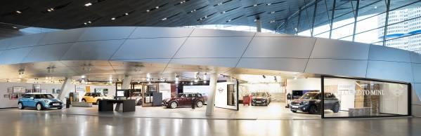 Die neue MINI Ausstellung in der BMW Welt. (12/2015)